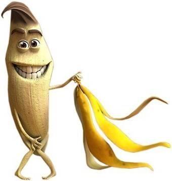 בננה מתפשטת קומדיה