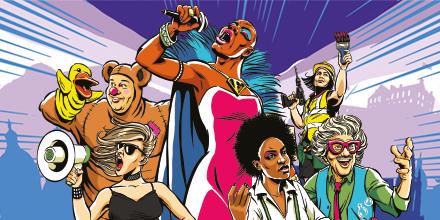 אדינבורו פרינג' 2020: פסטיבל הפרינג'-קומדיה שלא קרה